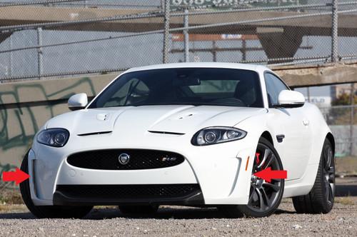 Jaguar XKR-S Front Bumper Mouldings Genuine JLR Parts