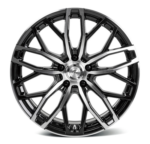 "AC KARMA 18"" Alloy Wheels Black Polish Face"