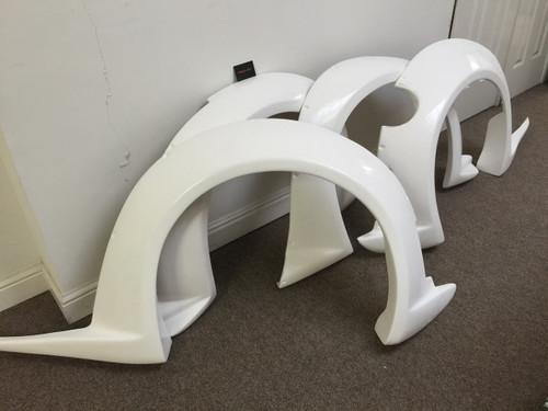 Nissan 350Z Veilside V3 Wheel Arch Kit
