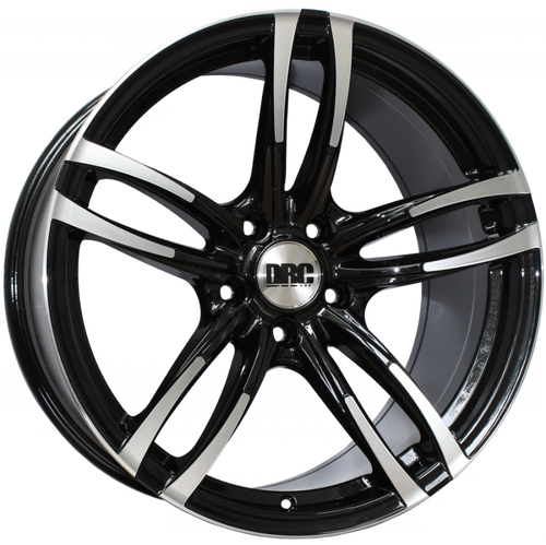 """19"""" DRC DMF Alloy Wheels in Staggered Fitment"""
