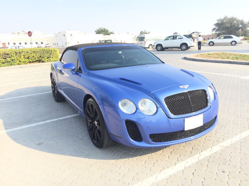 Bentley Continental GTC Super Sport Body kit Conversion