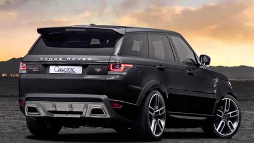 Range Rover Sport L494 Caractere Roof Spoiler