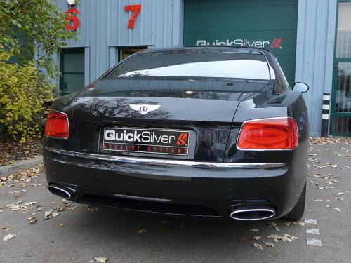 Bentley Flying Spur W12 V8 QuickSilver Sport Exhaust (2013 on)