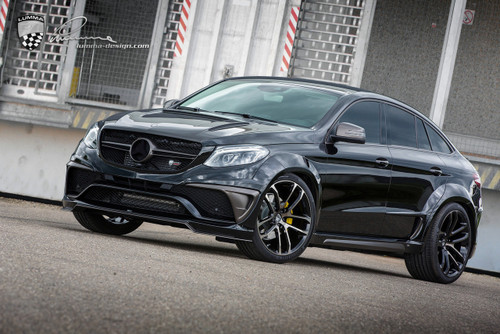 Mercedes-Benz GLE Lumma CLR G 800 Wide Body Conversion BLK