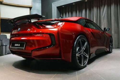 BMW i8 Carbon Fiber Rear Spoiler AC Schnitzer