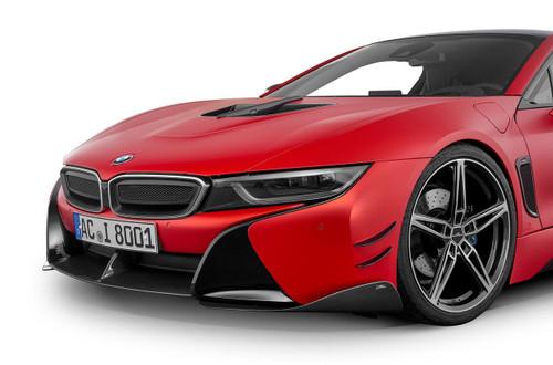 BMW i8 Carbon Fiber Front Middle Spoiler AC Schnitzer