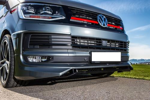 Volkswagen Transporter T6 Front Lip Spoiler 2015>