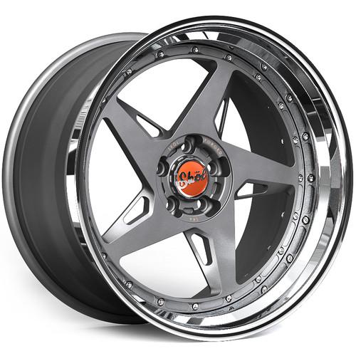"""20"""" Skol SK6 Modular 3 Piece Alloy Wheels"""