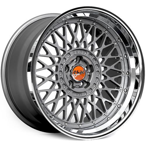 """20"""" Skol SK9 Modular 3 Piece Alloy Wheels"""