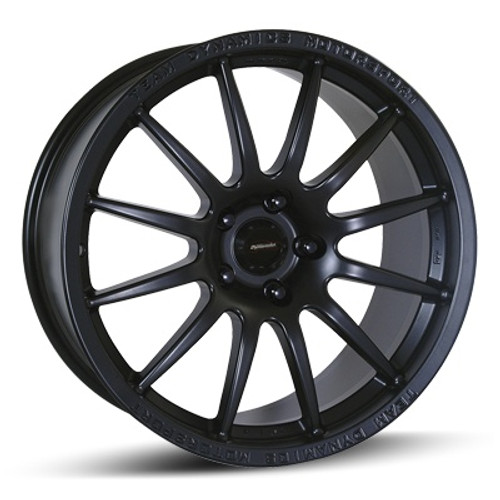 "17"" Team Dynamics Pro Race 1.2 Alloy Wheels Black"