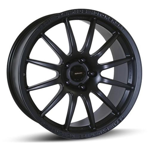 """17"""" Team Dynamics Pro Race 1.2 Alloy Wheels Black"""