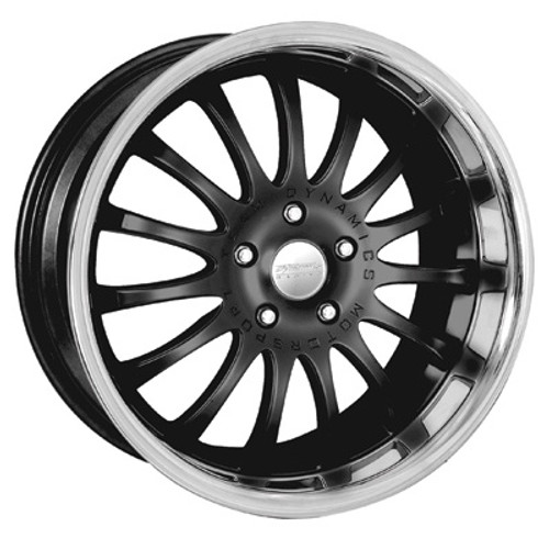 "20"" Team Dynamics Equinox Alloy Wheels Silver Black Gunmetal Centres with Stainless Lip"