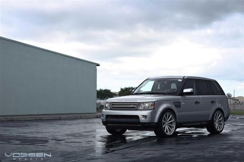 "22"" Vossen CV1 Alloy Wheels & Tyres Range Rover Sport 2012"