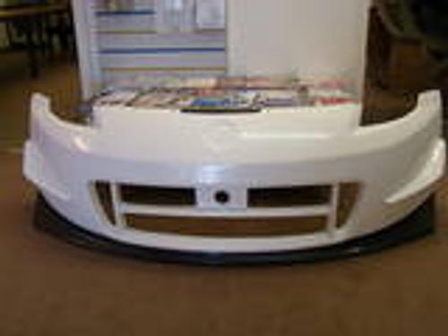 Nissan 350Z N2 Front Bumper with Carbon Fibre Lip