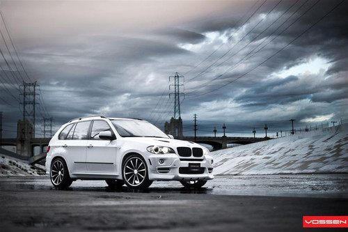 """22"""" Vossen VVS-CV1 Alloy Wheels & Tyres BMW X5"""