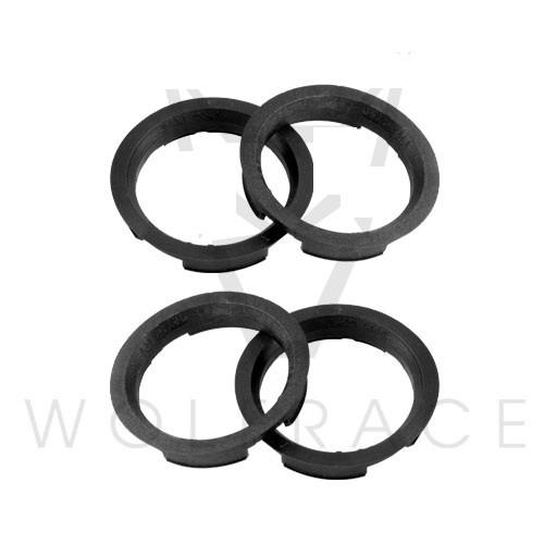 Set of 4 Plastic Spigot Rings 72.6mm