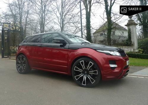"""22"""" Alloy Wheels & Tyres Hawke Saker II Range Rover Evoque Sport Vogue"""