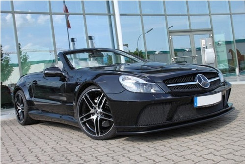 Mercedes SL65 Black Series Style Body Kit 2001-2008
