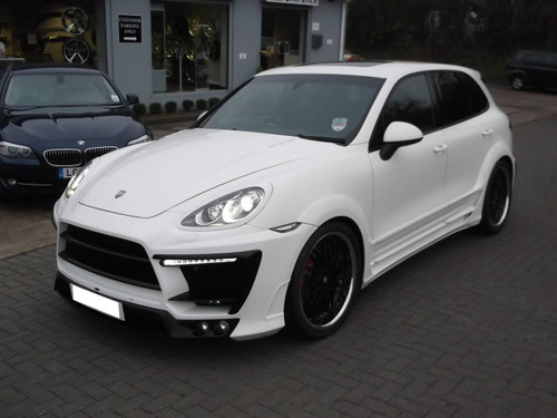 Porsche Cayenne Lumma CLR 558GT Design Body kit