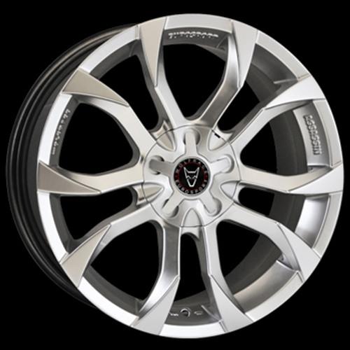 "18"" Alloy Wheels Wolfrace Eurosport Assassin Hyper Silver"