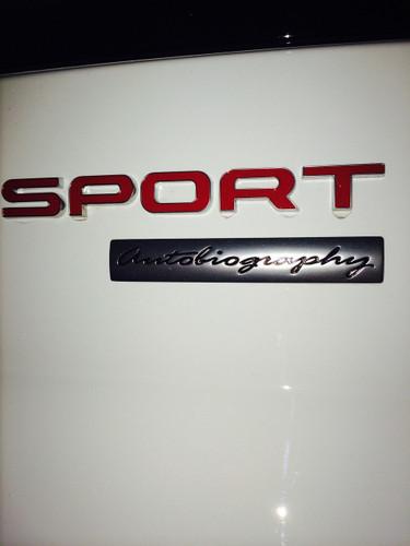 Range Rover Sport Autobiography Sport Badge
