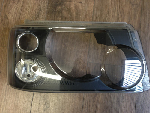 Range Rover Sport Headlight Upgrade Conversion painted black internals