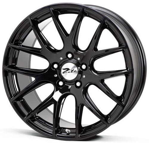 """Zito 935 22"""" Alloy Wheels Black"""