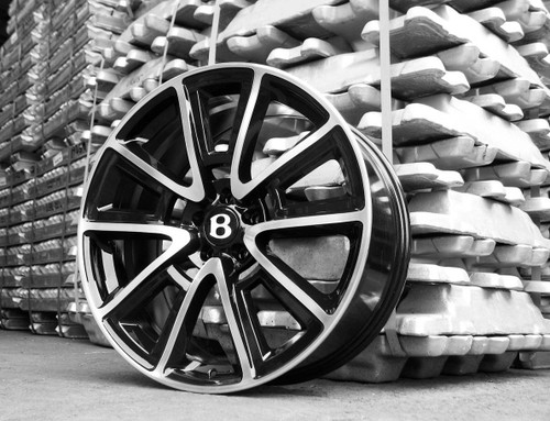 "SSR 21"" Alloy Wheels Bentley GT GTC"