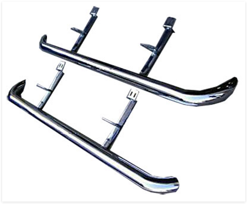 Range Rover Side Tubes Stainless Steel
