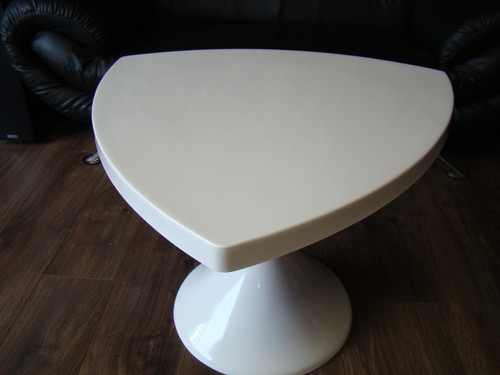 1960`s Style Tulip Triangle Face Table