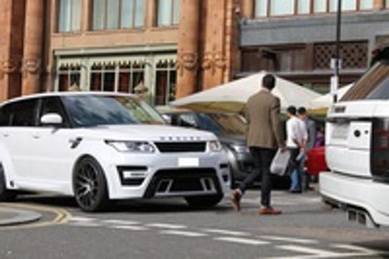 Meduza RS-700 Range Rover Sport 1st  London Visit