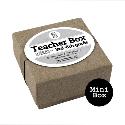 Mini Box: Teacher Box 3rd - 8th Grade - Time Fillers for Teachers