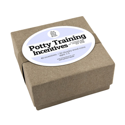 Potty Training Incentives for Kids- Positive, Instant & Non-Monetary