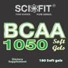 BCAA 1050 (1050mg 2:1:1 per serving) 180ct