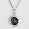 Pyrrha-Love Truth Talisman Necklace