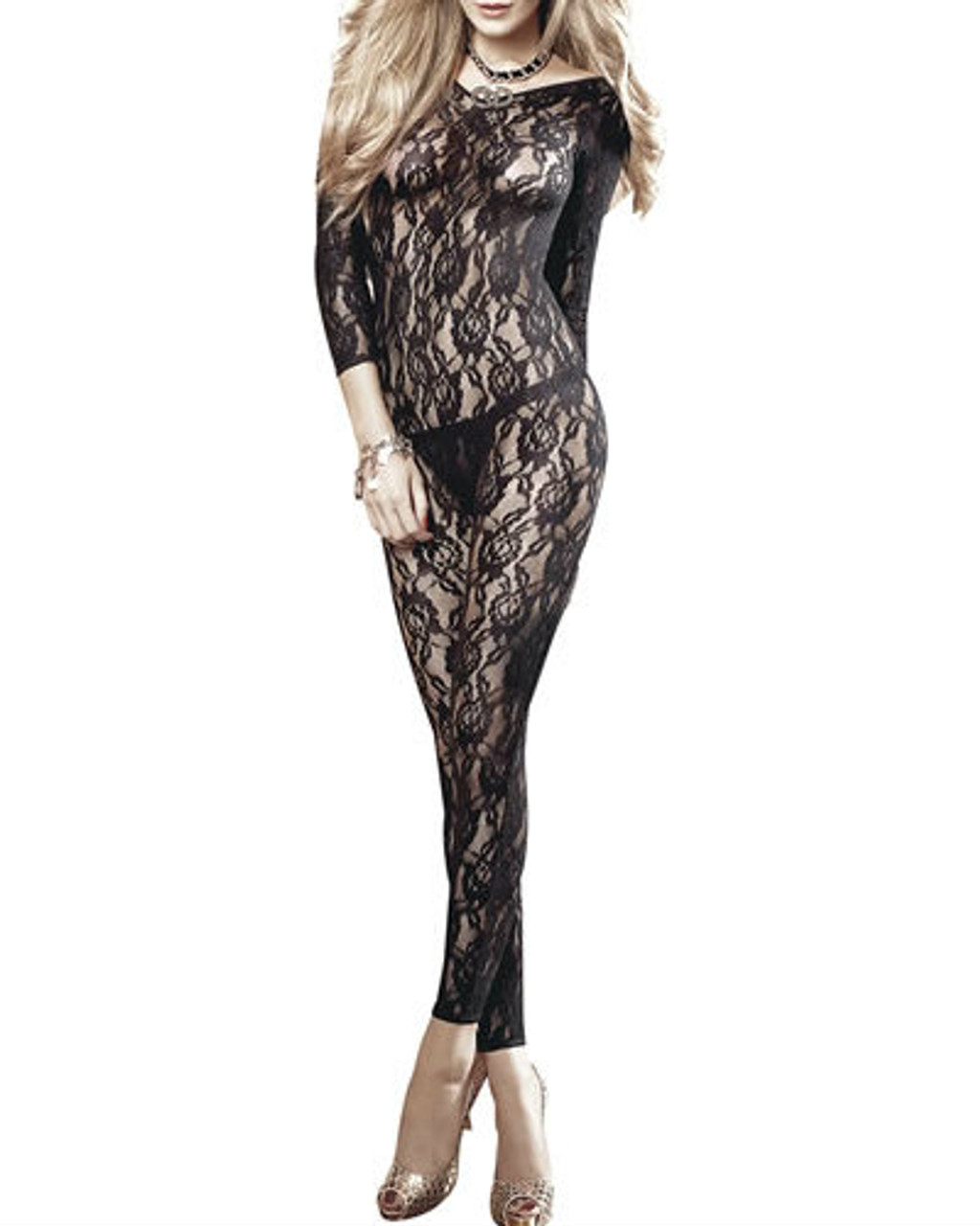 SEA OF LACE BODY STOCKING
