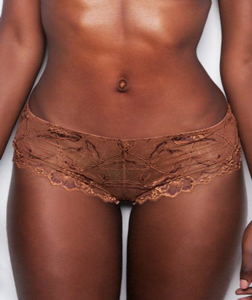 THE CLASSIC LACE SHORT - CINNAMON