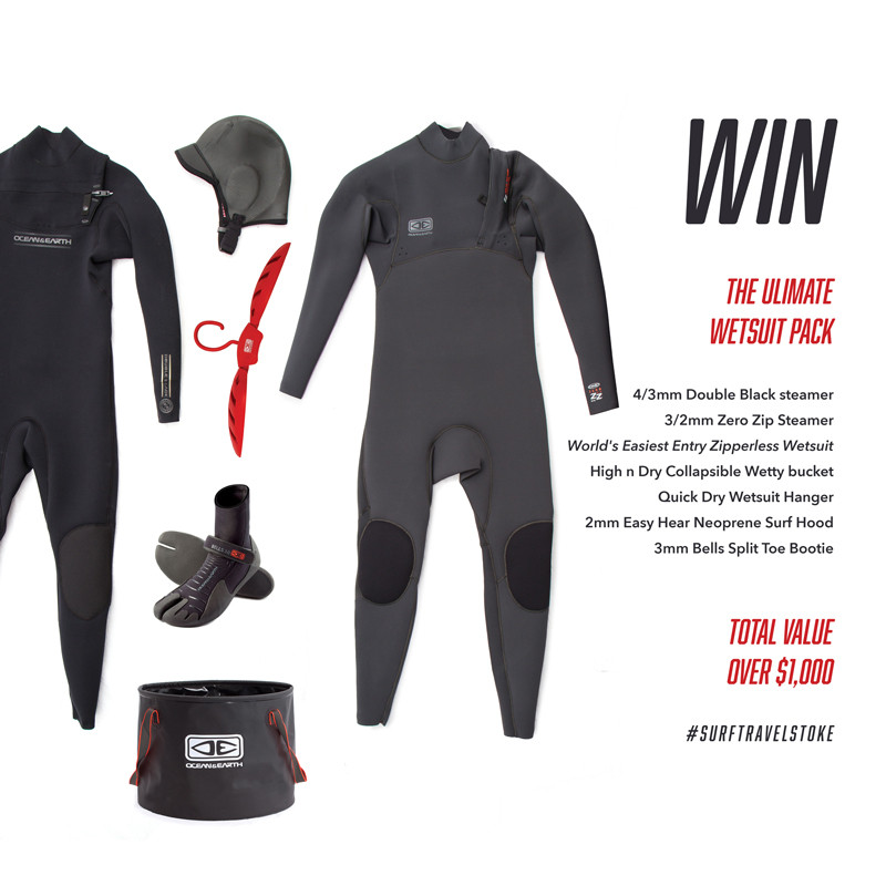 Want to win a $1000 Winter Wetsuit package?