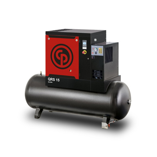 Chicago Pneumatic QRS Series Compressor - QRS 5 HP Tank Mounted