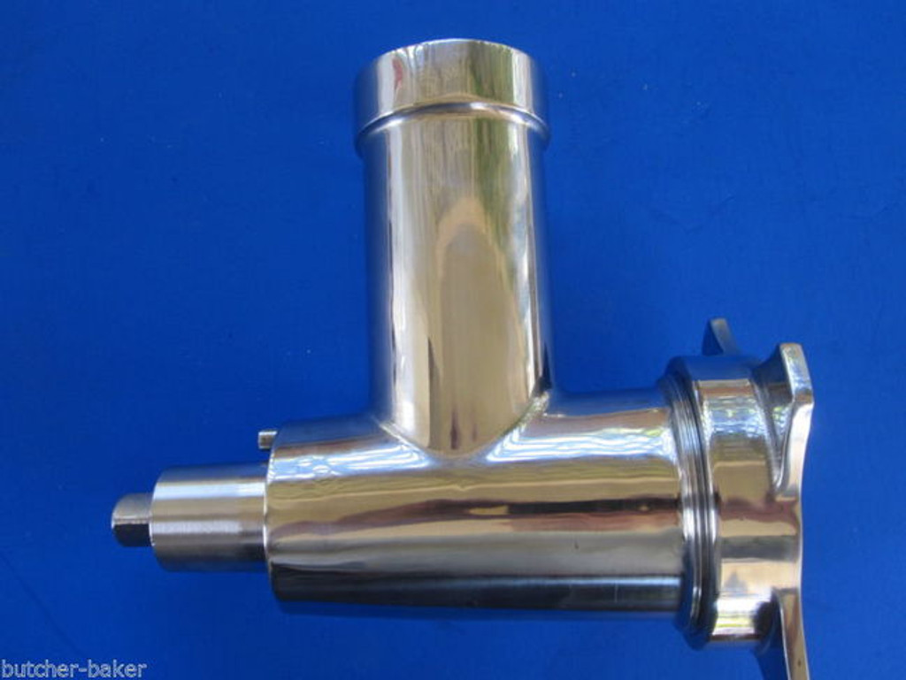 NEW Stainless Steel Meat Grinder attachment for Hobart 4212 4312 4612 4812 84185