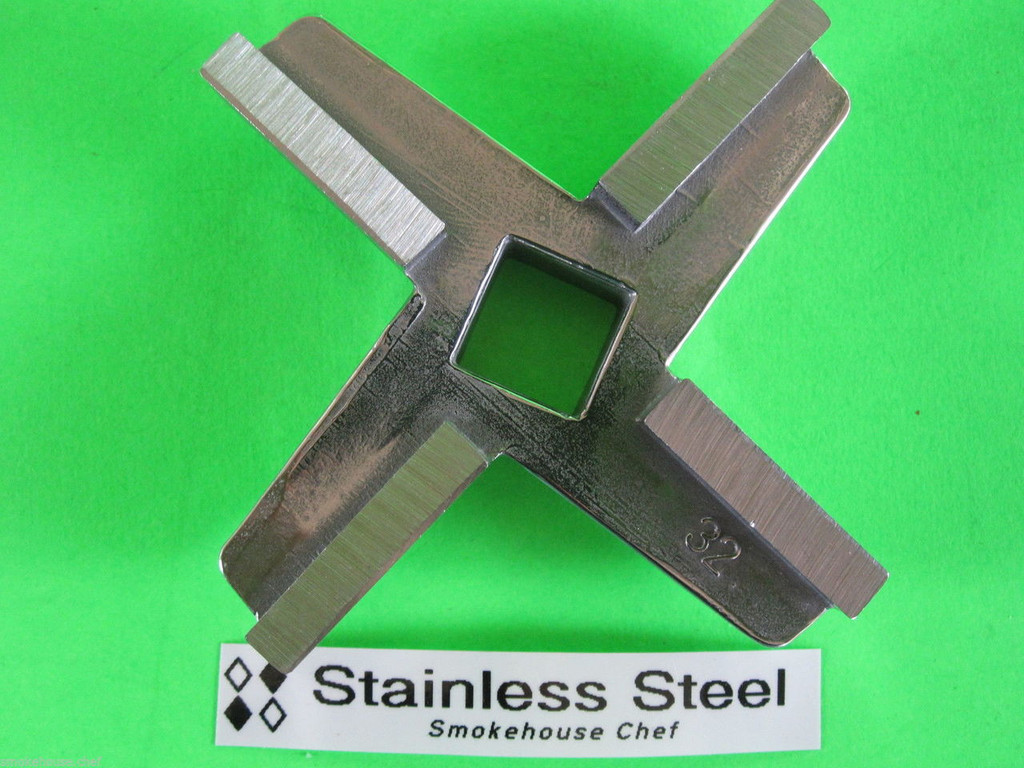 NEW Meat Grinder Knife Blade for Enterprise size #32 in STAINLESS STEEL