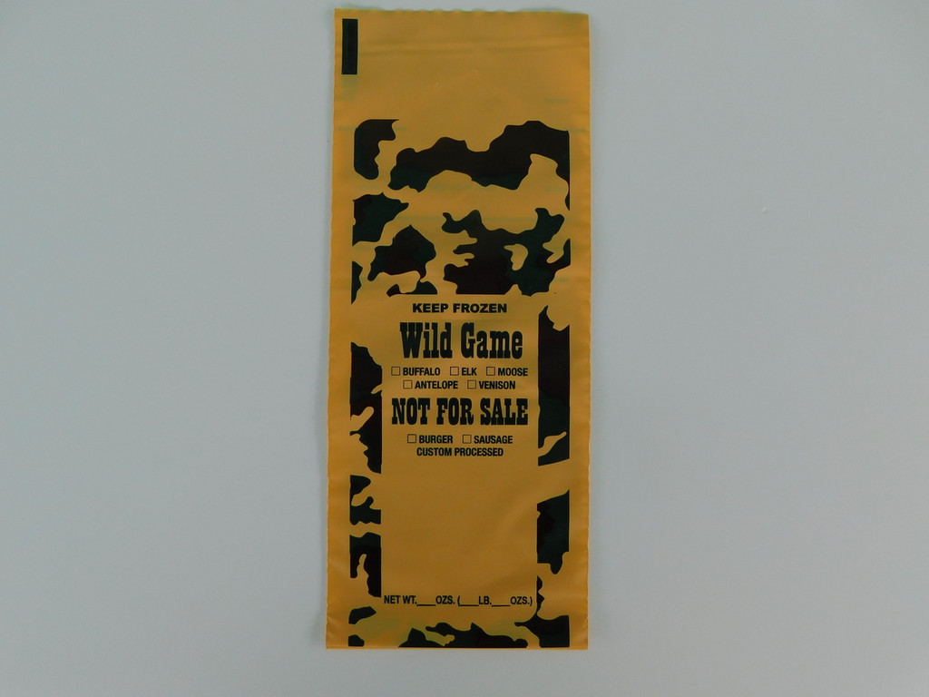 Freezer Bags.  200 ct.  1-Lb capacity for all wild game meat.  Burger Sausage