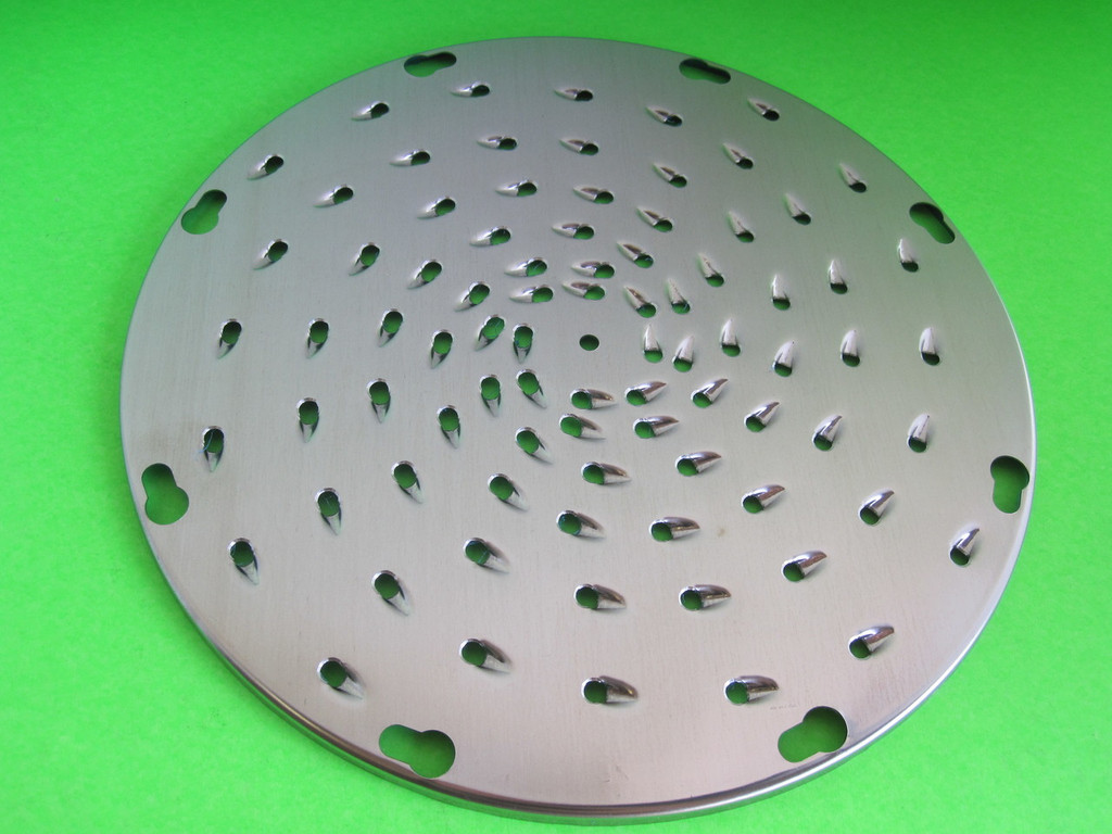 "3/16"" Cheese Vegetable Grater Shredder Disc for Hobart Pelican Head mixer etc"