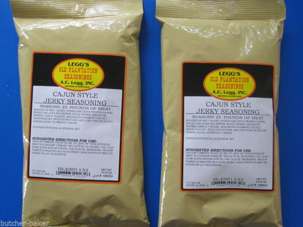 *NEW* Cajun style Jerky Seasoning for 50 LBS of Homemade Venison Beef Deer Elk