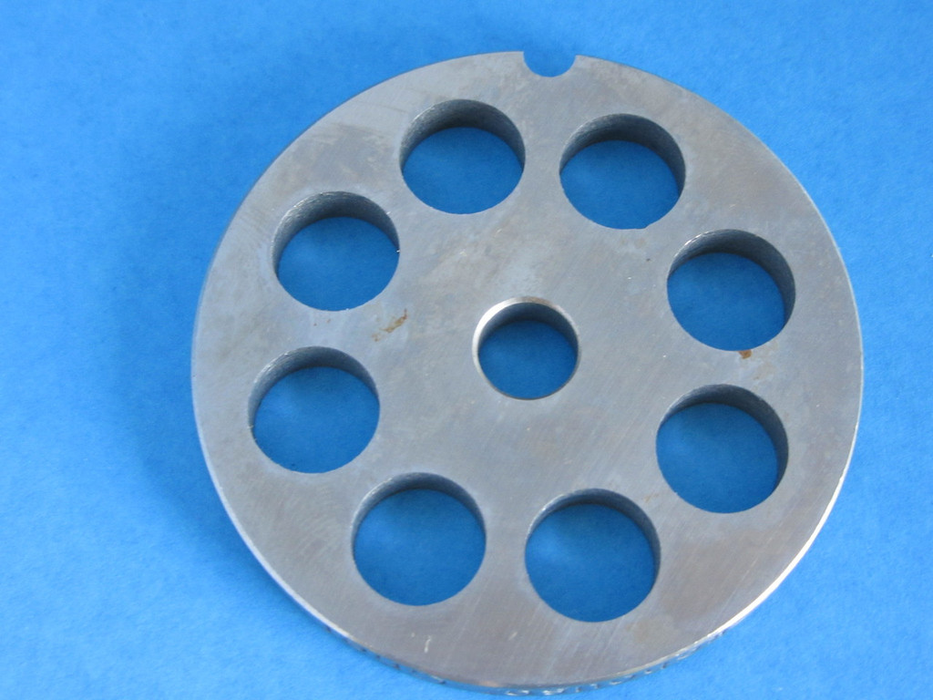 """#8 x 1/2"""" hole size meat grinder chopper plate disc die for electric or manual"""