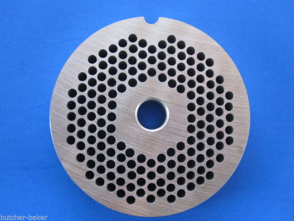"""#5 x 1/8"""" FINE hole size Meat Chopper Grinder plate disc for Electric or Manual"""