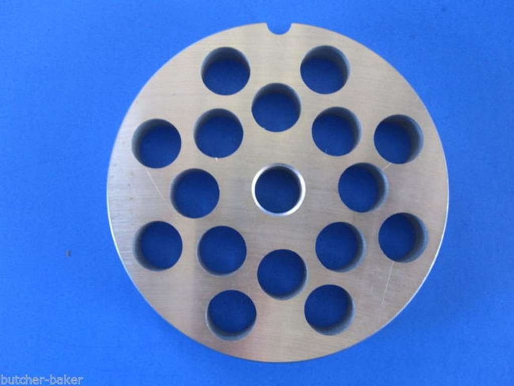"""#22 x 1/2"""" hole STAINLESS Meat Grinding Grinder Plate disc & Cutter Knife"""