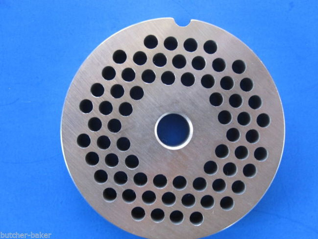 "#12 x 3/16"" holes Hamburger Meat Food Grinder Mincer Chopper plate disc screen replaces Hobart 00-016424-00002"