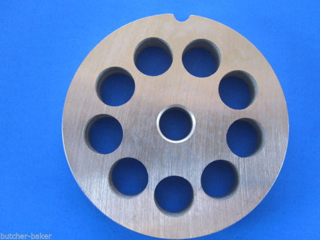 "#12 x 1/2"" holes STAINLESS Meat Food Grinder Mincer Chopper plate disc screen Hobart 00-016427-00002"