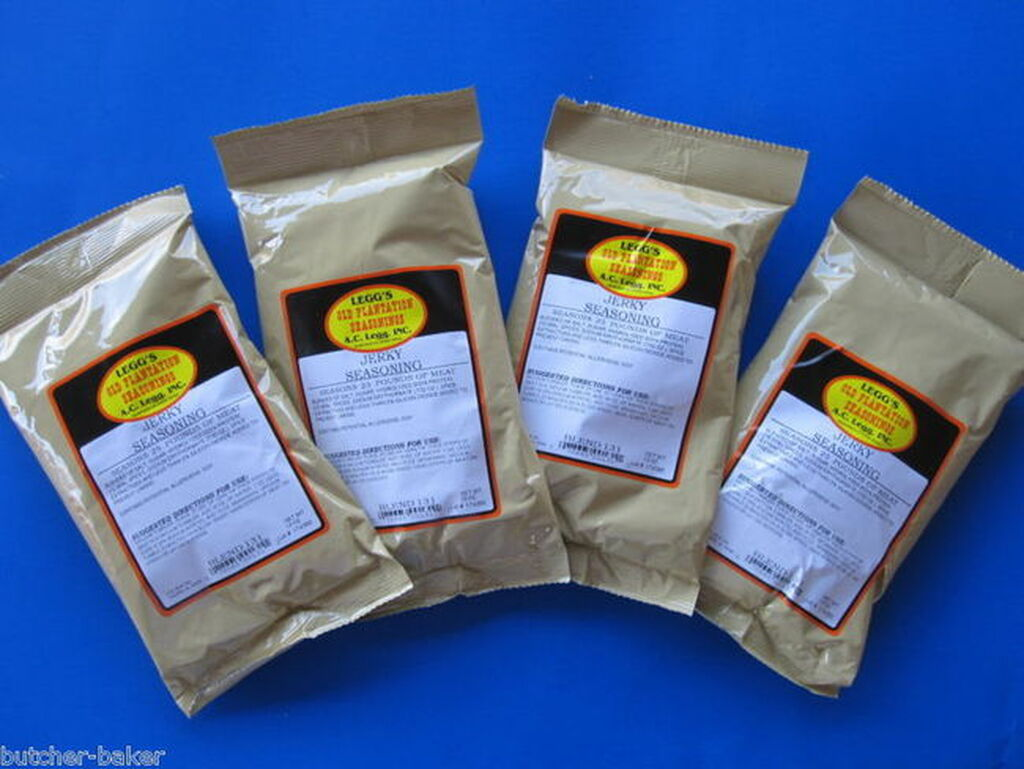 CASE PRICE Original Leggs JERKY Seasoning Spices for Venison Elk Beef Moose Axis